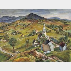 Marion Huse (American, 1896-1967)      Along the Taconic Trail