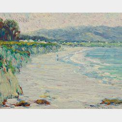 William Posey Silva (American, 1859-1948)      Carmel Beach