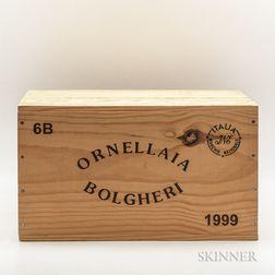 Tenuta dellOrnellaia Ornellaia 1999, 6 bottles (owc)
