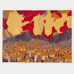 Masaaki Tanaka (b. 1947), Three Silkscreen Prints