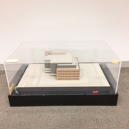 Architectural Model of an Office Building
