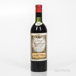Chateau Rauzan Gassies 1961, 1 bottle