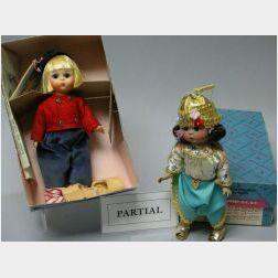 Seven Boxed Madame Alexander Dolls