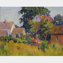 Mabel May Woodward (American, 1877-1945)      Cape Cod Farm