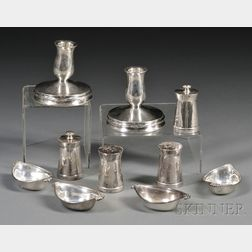 Ten Small Silver Table Articles
