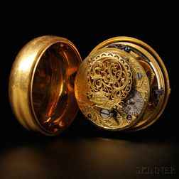 James Planche Gold Pair-cased Watch