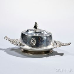Gorham Coin Silver Covered Dish