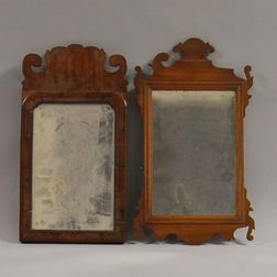 Two Small Early Mirrors