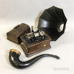 "Thomas Edison Model ""D"" Home Phonograph"