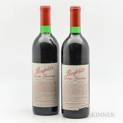 Penfolds Grange 1984, 2 bottles