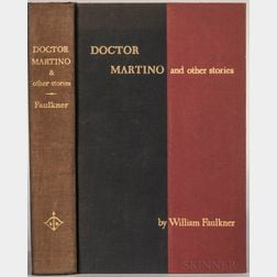 Faulkner, William (1897-1962) Doctor Martino  , Signed Limited Edition.