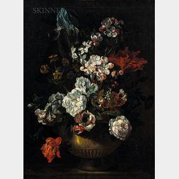 School of Jean-Baptiste Monnoyer (French, c. 1636-1699)      Flowers in a Vase