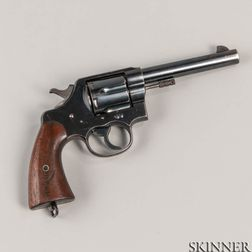 Colt U.S. Navy Model 1909 Double-action Revolver Marked to the USS Utah BB-31
