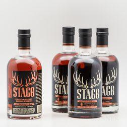 Stagg Jr., 4 750ml bottles