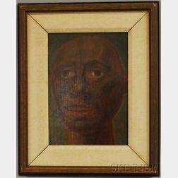 Alexey Von Schlippe (Russian, 1915-1988)      Portrait Study of an African Man
