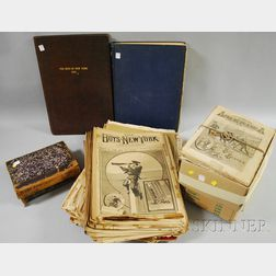 Six Bound Sets and Assorted Loose Dime Novels/Nickel Weekly Titles