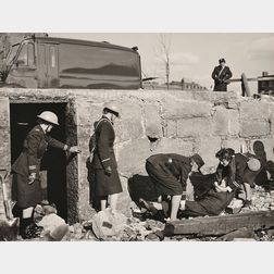 Ansel Adams (American, 1902-1984)      Fifty-Seven Photographs Documenting the Massachusetts Women's Defense Corps