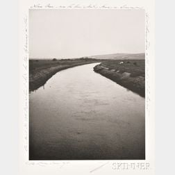 Patti Smith (American, b. 1946)      The River Ouse, East Sussex, England