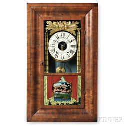 Hills, Goodrich & Co. Ogee Shelf Clock