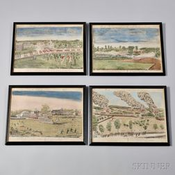 Amos Doolittle Lexington and Concord Goodspeed Collotypes