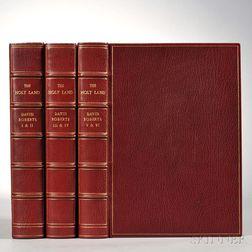 Roberts, David (1796-1864) The Holy Land, Syria, Idumea, Arabia, Egypt, & Nubia.