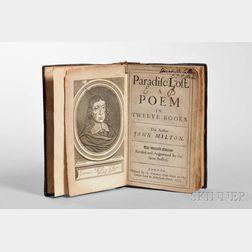 Milton, John (1608-1674) Paradise Lost. A Poem in Twelve Books.