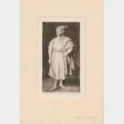 Francisco José de Goya y Lucientes (Spanish, 1746-1828)    Barbarroxa (After Velazquez)