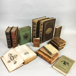 Fifteen Books on Varied Subjects