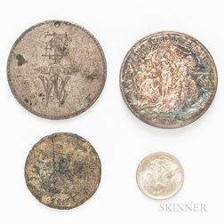 Three Coins and a Medal