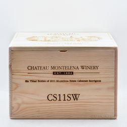 Chateau Montelena Cabernet Sauvignon Estate 2011, 6 bottles (owc)