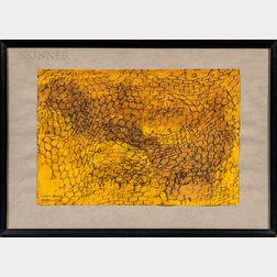 Mirko Basaldella (Italian, 1910-1969)    Abstract in Yellow
