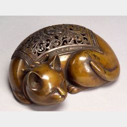 Bronze  Incense Burner