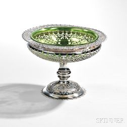 Edward VII Sterling Silver Compote