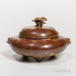 Simulated Bronze Ceramic Censer