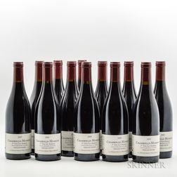 Anne & Herve Sigaut Chambolle Musigny Les Sentiers Vieilles Vignes 2005, 12 bottles