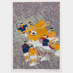 Masaaki Tanaka (b. 1947), Six Silkscreen Prints