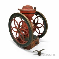Enterprise Paint-decorated Cast Iron Coffee Grinder