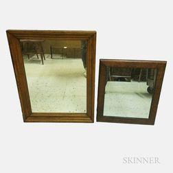 Two Tiger Maple and Burl Mirrors