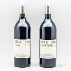 Ridge Monte Bello 2008, 2 magnums