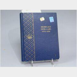Thirty-six Morgan Silver Dollars 1878-1886