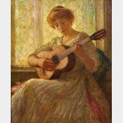 Lee Lufkin Kaula (American, 1865-1957)      A Quiet Ballad