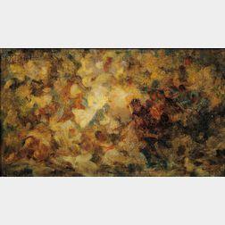 Augustus Vincent Tack (American, 1870-1949)      Autumn Colors