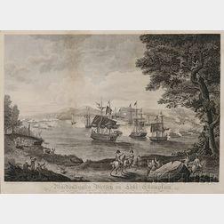 After Hugh Reinagle (American, 1788-1834)      Macdonough's Victory on Lake Champlain...