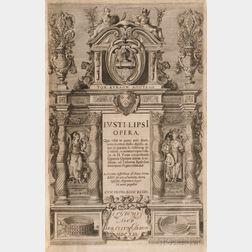 Lipsius, Justus (1547-1606) Opera