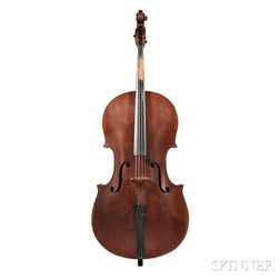 American Church Bass, c. 1840