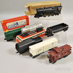 Lionel Train Steam Freight Partial Set #2147WS and Others