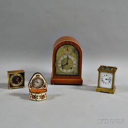 Four Table Clocks
