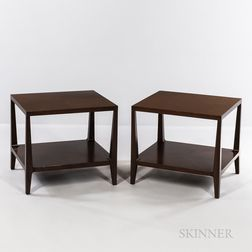 Two Mitchell Gold and Bob Williams End Tables