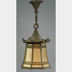 Bradley and Hubbard Hanging Lantern