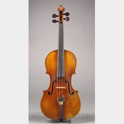 German Violin, Paul Knorr, Markneukirchen, c. 1943